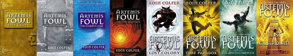 The Artemis Fowl 8 Book Series